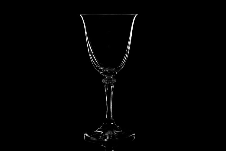 Menacing Wine Glass